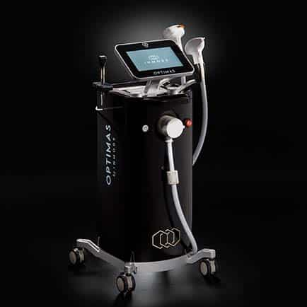 Image of the Optimas Workstation from InMode for RF Microneedling treatments