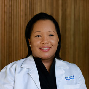 Aisha White, MD is a board certified plastic surgeon in Austin and the medical director of Viva Day Spa + Med Spa in Austin.