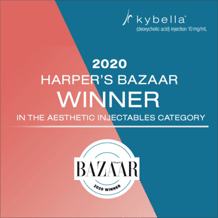 Harper's Bazaar Award for Kybella 2020